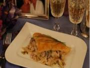 Do You Dare Date Night Dinner / Puff Pastry with Ham & Mushrooms
