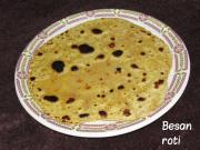 Besan Ki Roti- Amazing Diwali Breakfast Dish