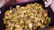 Brussels Sprout, Leek & Mushroom Dressing