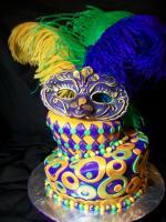 Mardi Gras Cake - A Yummy Inclusion In Mardi Gras Menu