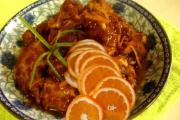 Duck With Orange And Bean Sprouts