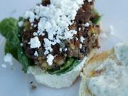 Adam's Veggie Burgers (Vegan-ish)