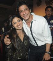 Shahrukh and Shilpa Shetty