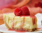 No Bake Eggnog Cheesecake