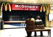 Obese Tamworthians are still hungry for fast food.