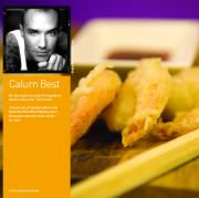 Calum Best's Tempura King Prawns with Chilli and Ginger Dipping Sauce