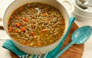How to make low fat lentil soup