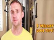 Jon's Top 5 Weight Lost Tips
