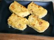 Polenta Tuna Cake