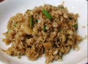 Garlic Flavored Fried Rice
