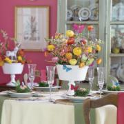 Enjoy the feel of spring on your Easter table setting with the Easter butterflies.