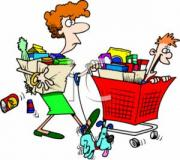 Grocery Shopping on a budget can be a tricky task.