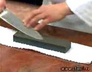How to Sharpen a Kitchen Knife on a Stone