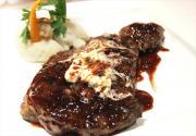 Steak with Bordelaise Sauce