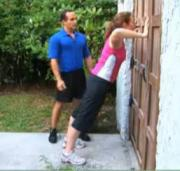 Pre-Beginner Exercises - Chest Wide Stance Wall Push