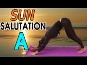 Sun Salutation A or Surya Namaskara