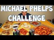 Michael Phelps Diet Challenger Downs 12000 Calories in One Sitting!