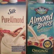 Almond milk is the new rage among people looking for non dairy products