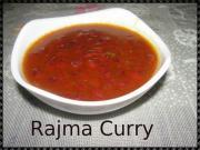 Homemade Rajma Curry
