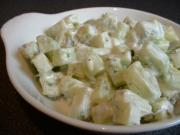 Dill Sour Cream Cucumber Salad
