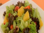 Fruity Lettuce Citrus Salad by Tarla Dalal