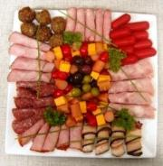 Gorgeous Meat Garnish on a meat platter.