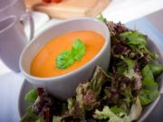 La Madeleine Tomato Basil Soup