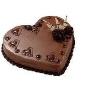 Valentines special chocolate cake
