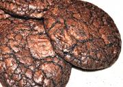 Crunchy Chocolate Mocha Crinkle Cookie