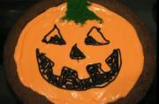 Colorful Halloween Chocolate Brownie