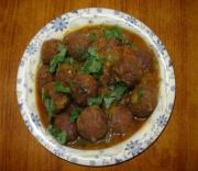 Kofta ( Indian Meatballs )