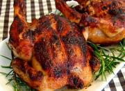 Blood Orange and Rosemary Grilled Spring Chicken