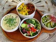 Macrobiotic Diet Menu -- Fresh Fruits And Vegetables