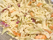 Raw Food Recipe for Cabbage Coleslaw