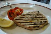 Thyme Flavored Tuna Steaks