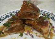 Dabeli Chaat - Mashed Potato Sandwich