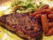 Chili Rubbed Pork Chops