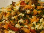 Roasted Vegetable and Herb Cheese Frittata