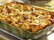 Make casserole with turkey leftovers