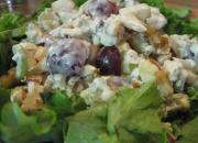 Easy Waldorf Salad With Cheese Dressing