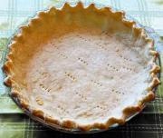One Crust Butter Pie Crust