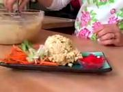 Ginger Peanut Tofu Salad