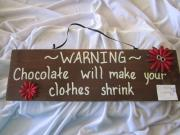 Chocolate warnings don't work