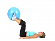 Inner Thigh Extensions with Exercise Ball