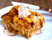 Apple-Topped Bread Pudding