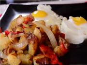 Classic Breakfast : Eggs & Fried Potatoes