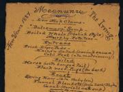 old menu