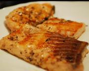 Honey Barbecued Salmon