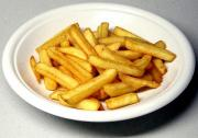 French fries for greasy food day