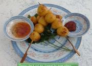Barbecued Fishballs